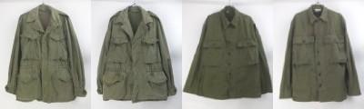 M-1943HBTジャケット、M-1943、M1950フィールドジャケット
