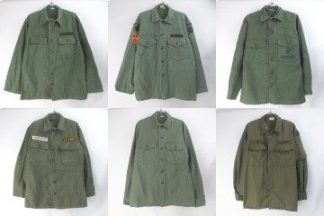 米軍ユーティリティシャツ 、ヘリクルーシャツ