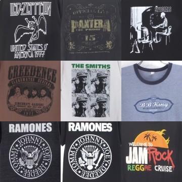 バンドTシャツ