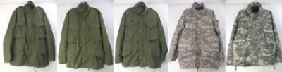 M-65フィールドジャケット、ECWCS GEN2,3ゴアテックスパーカー