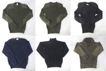 ミリタリー系セーター