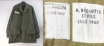 フランス軍M64ジャケットデッドストック