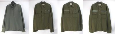 米軍ウールシャツ、スリーピングシャツ
