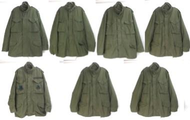米軍 M65フィールドジャケット