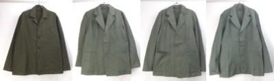 スウェーデン軍プリズナージャケット、オランダ軍パジャマシャツジャケット