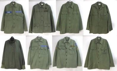 米軍ユーティリティシャツ60's多数