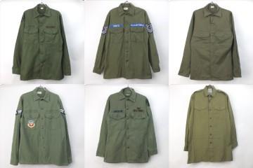 米軍、イギリス軍ミリタリーシャツ