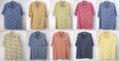 トミーバハマ半袖シャツ