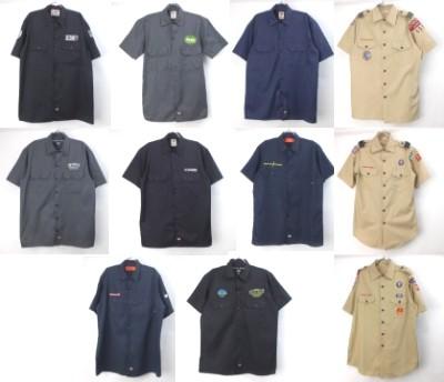 ディッキーズワークシャツ、ボーイスカウトシャツ