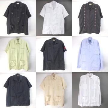 キューバシャツ (半袖・長袖)
