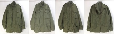 M65フィールドジャケットSL/ML/LL、ウーマンズフィールドジャケット