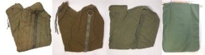 米軍ヴィンテージ スリーピングバッグ、新品ランドリーバッグ