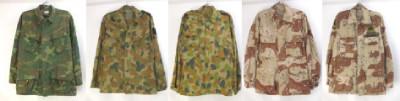 米軍、オーストラリア軍 迷彩ミリタリーシャツ