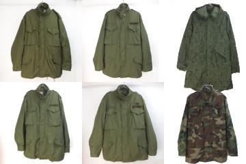 Mー65フィールドジャケット 、ナイトカモパーカー