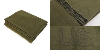 米軍60年代ウールブランケット