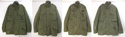 米軍M-65フィールドジャケット