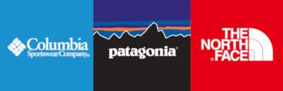 パタゴニア ノースフェイス コロンビア