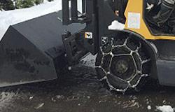 フォークリフト用タイヤチェーンJIS