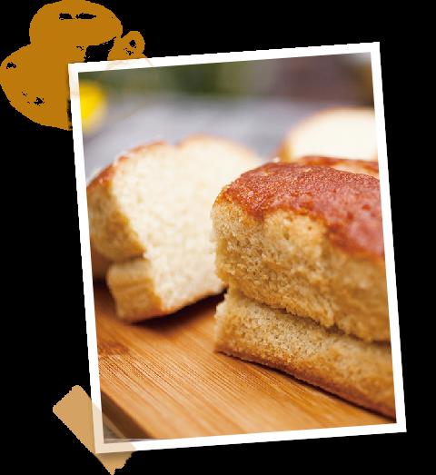 くがにちんすこうのくがにやあ(くがに菓子本店)から、素朴で豊かな味わいの「パンウドケーキ」が誕生しました。